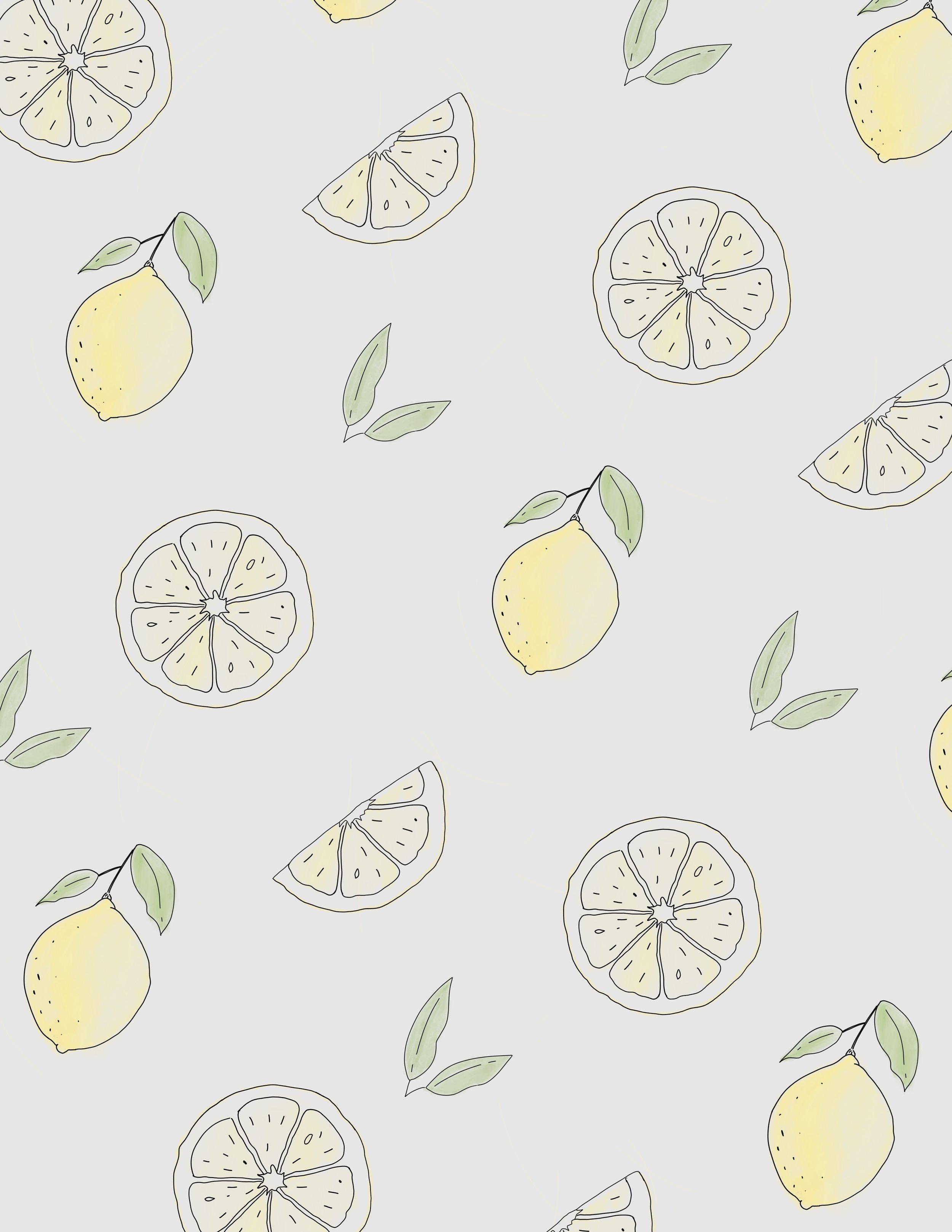 Lemon Illustration - Art Print