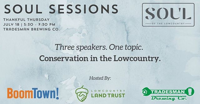 Our favorite oysterman from @lowcooysters will be speaking tonight at @tradesmanbrew ! Come hear what community leaders are doing to promote conservation in the Lowcountry 🏝