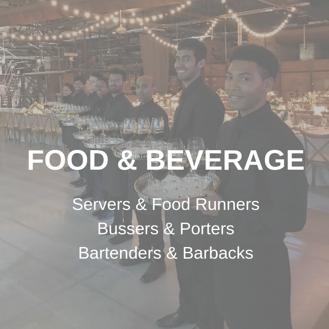 Food & Beverage Staff