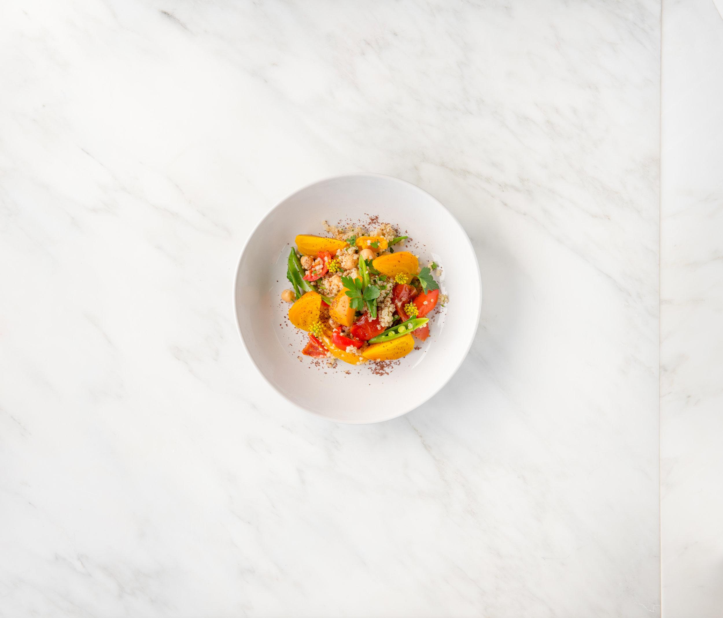 Golden Beet, Quinoa & Sumac