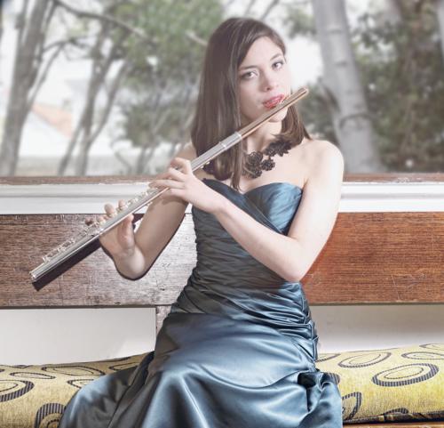 Laura del Sol Jimenez, flute