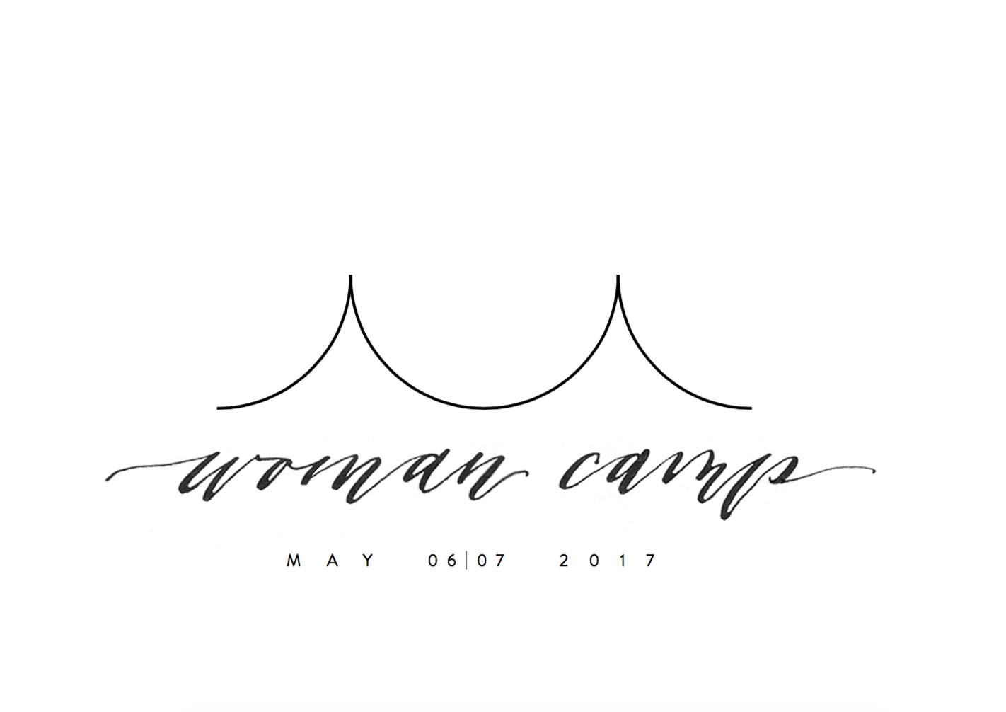 Woman Camp Calligraphy for Identity