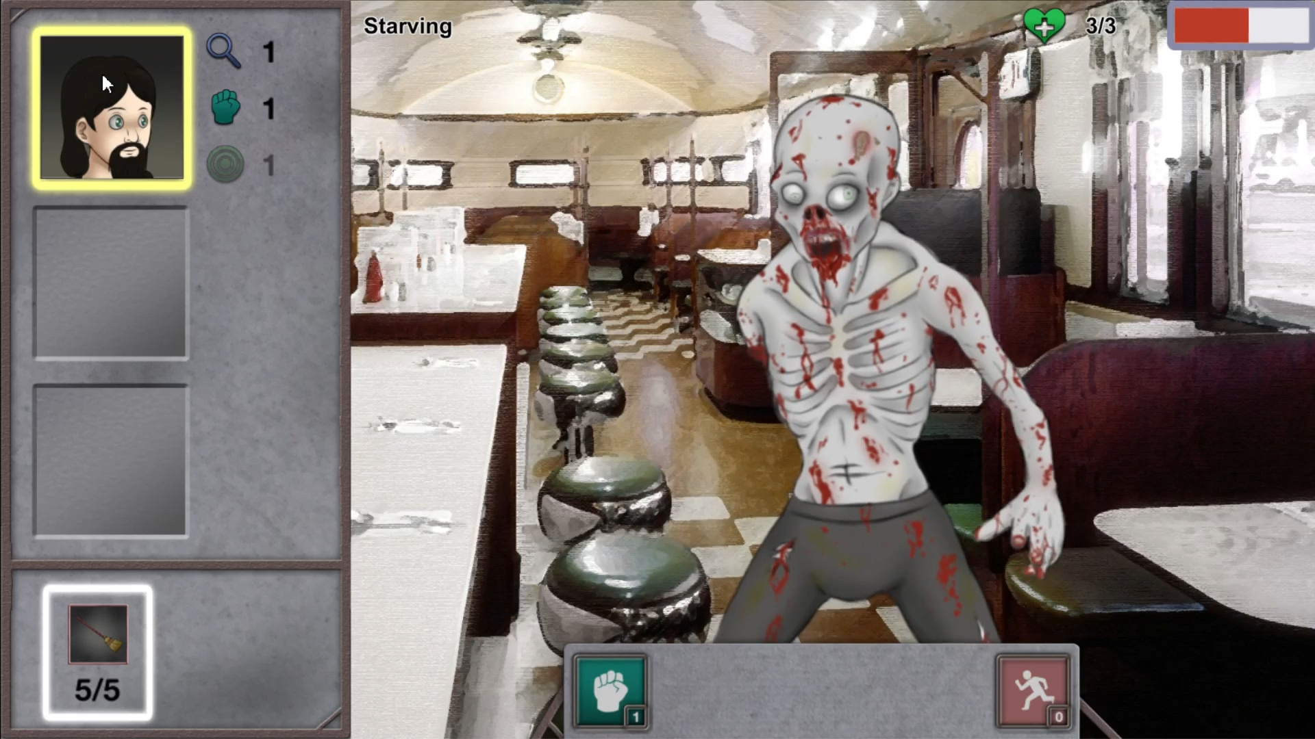 Starving Zombie