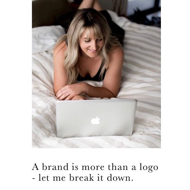 """There can be a little confusion around what makes up a """"brand"""" and so often I have customers contacting asking """"Hey can I have just a logo"""" - I'm like - """"sure, but it won't get you very far"""". • • I thought I'd break it down into bite-sizes pieces in hope that we all feel empowered to embrace """"the bigger picture"""". • • LINK IN PROFILE ☝️ • • Homework activity always ✏️ 🗒 Feel free to send me your notes, I love hearing your wild ideas!"""