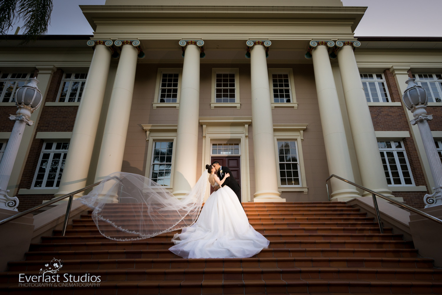 Old government house Brisbane wedding