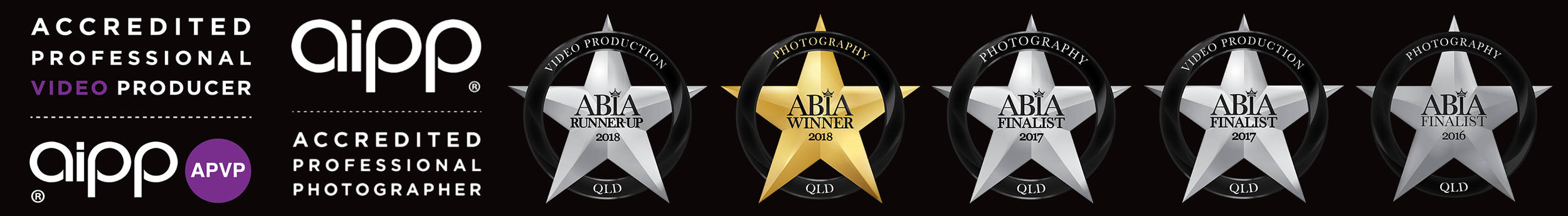 AIPP Accredited and Winner of ABIA Awards Wedding Photography