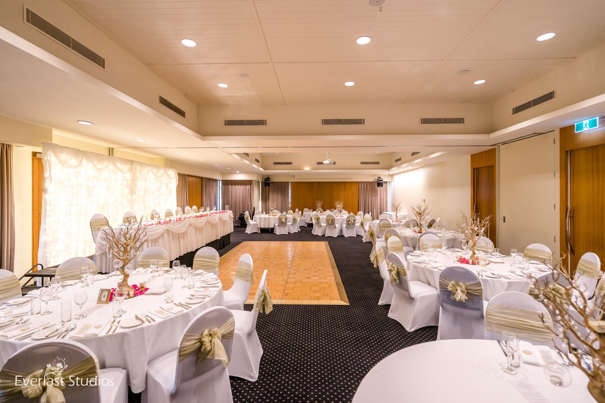 Glades Golf Club wedding reception
