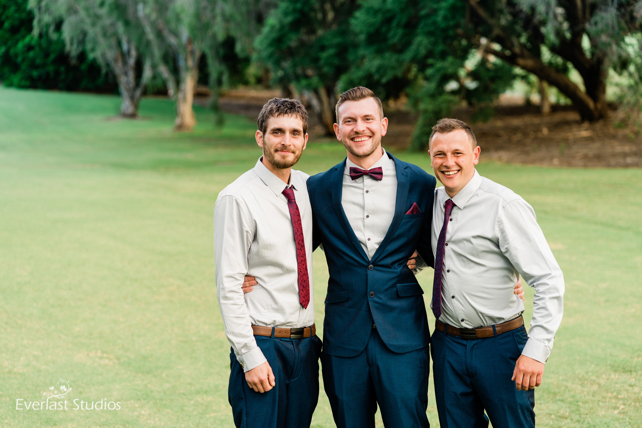 Groomsmen at Indooroopilly Golf Club