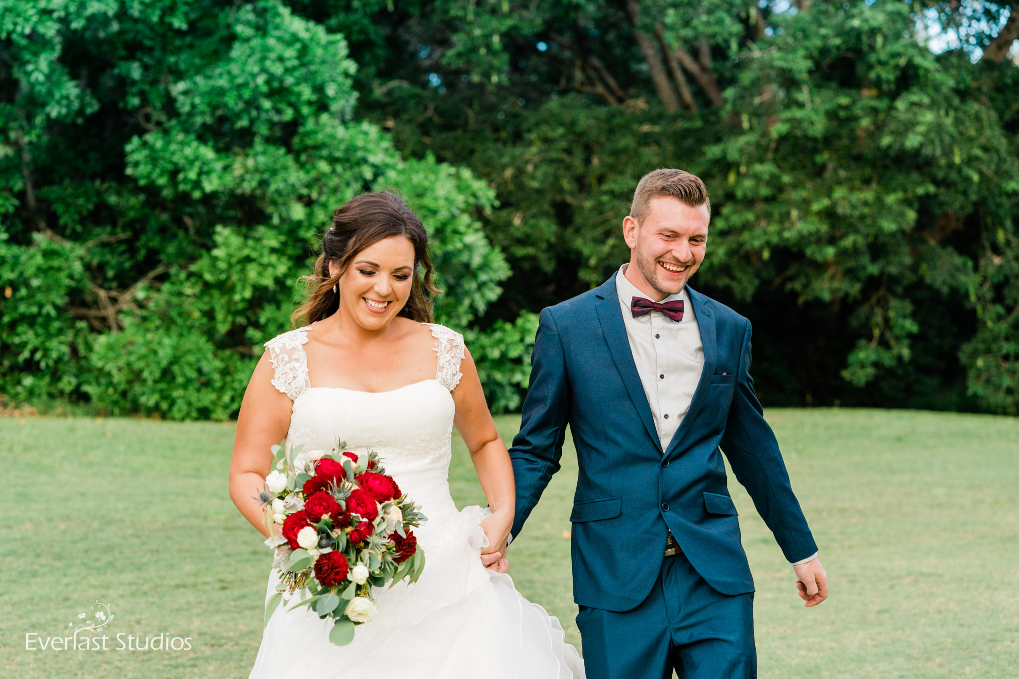 Bride and Groom at Indooroopilly Golf Club