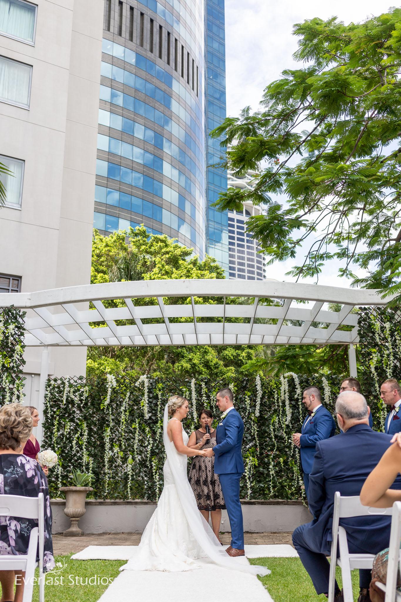 Wedding Ceremony Brisbane City