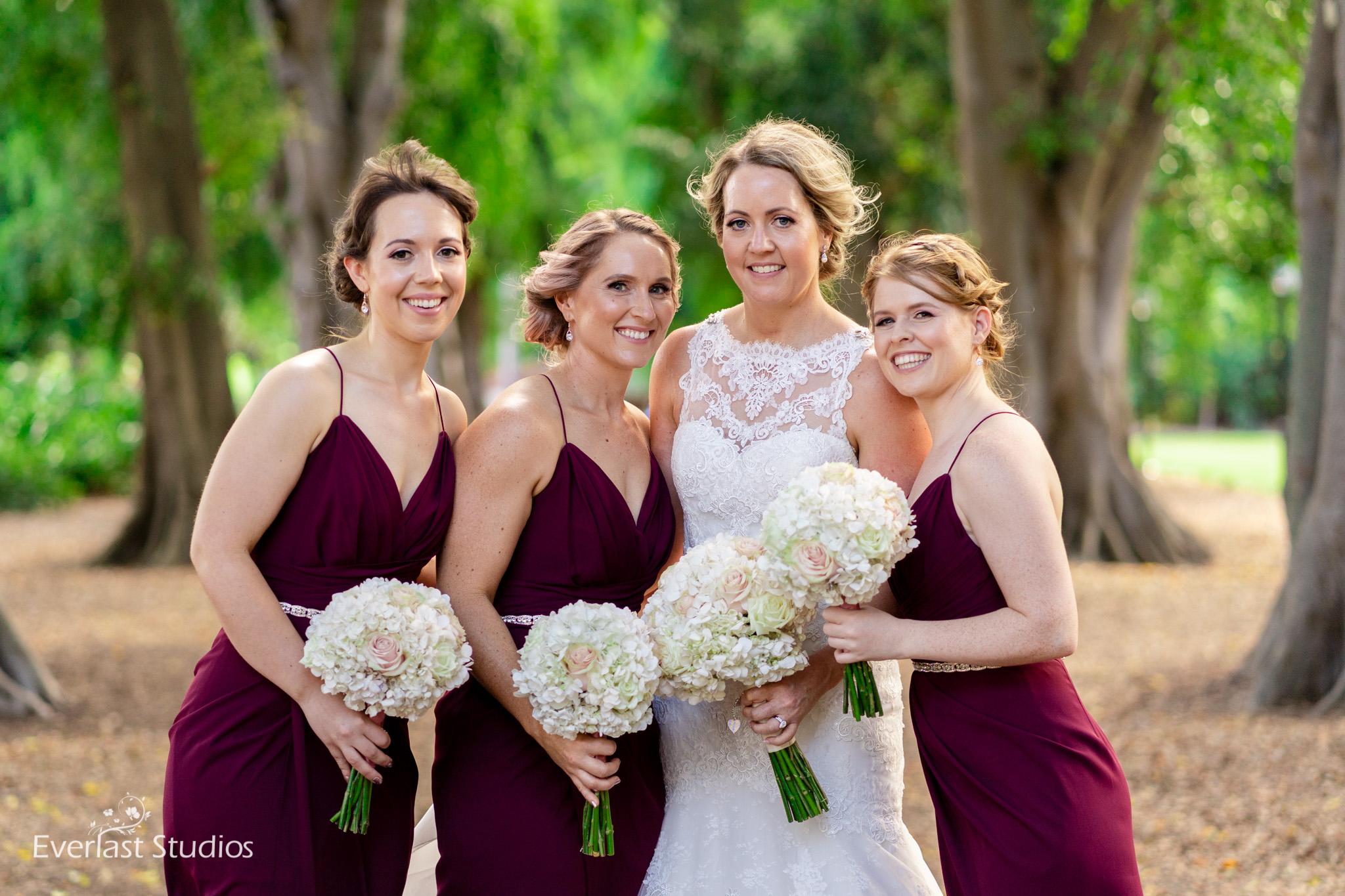 Bridesmaids Brisbane City Wedding