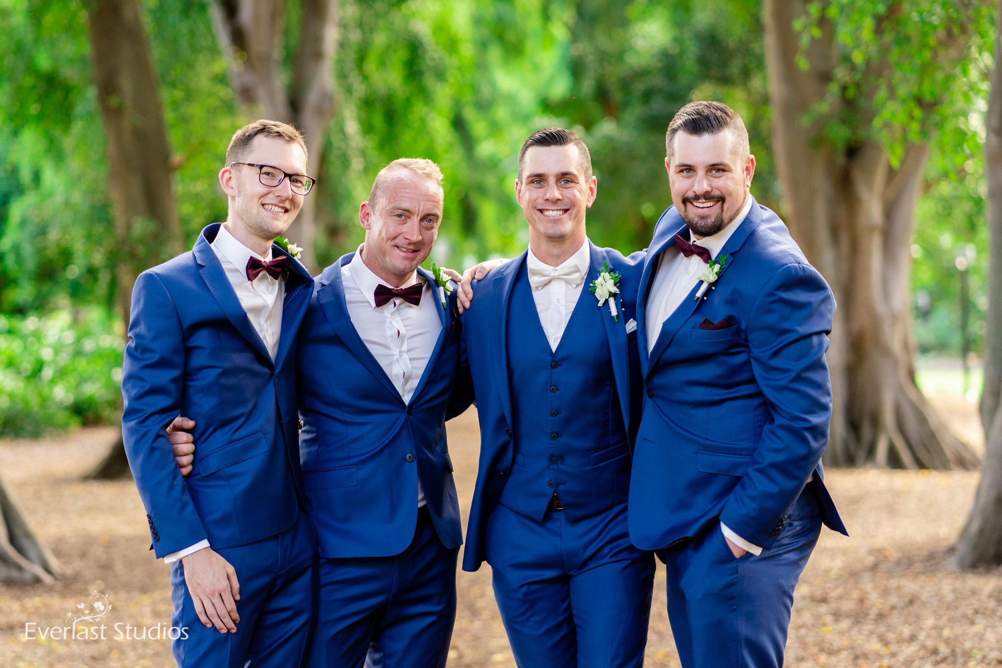 Groomsmen Brisbane City Wedding