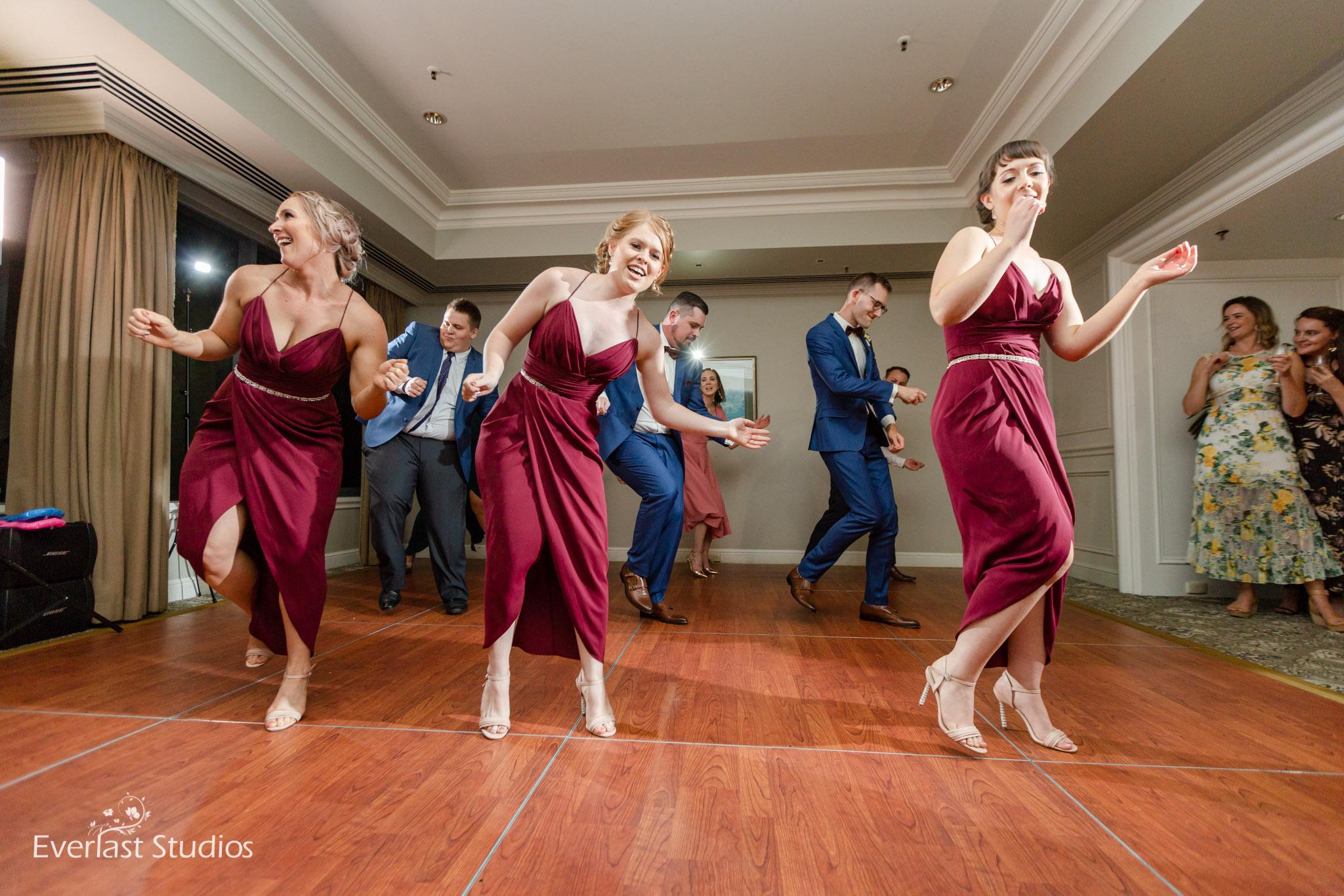 Bridal Party flash mob