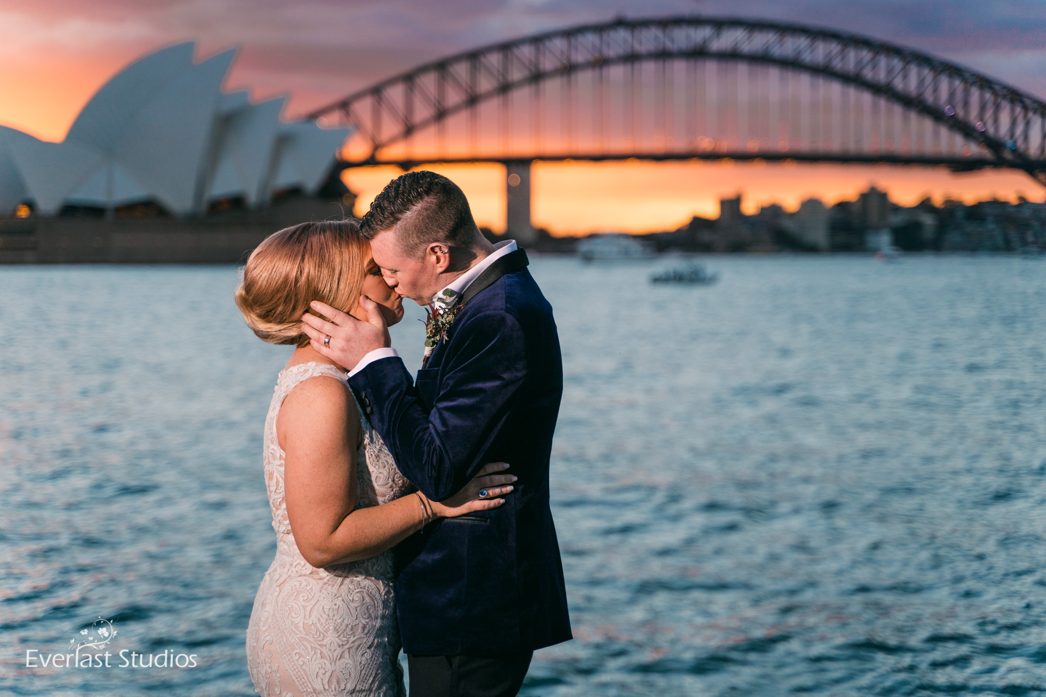 Syndey Harbour Wedding Photography