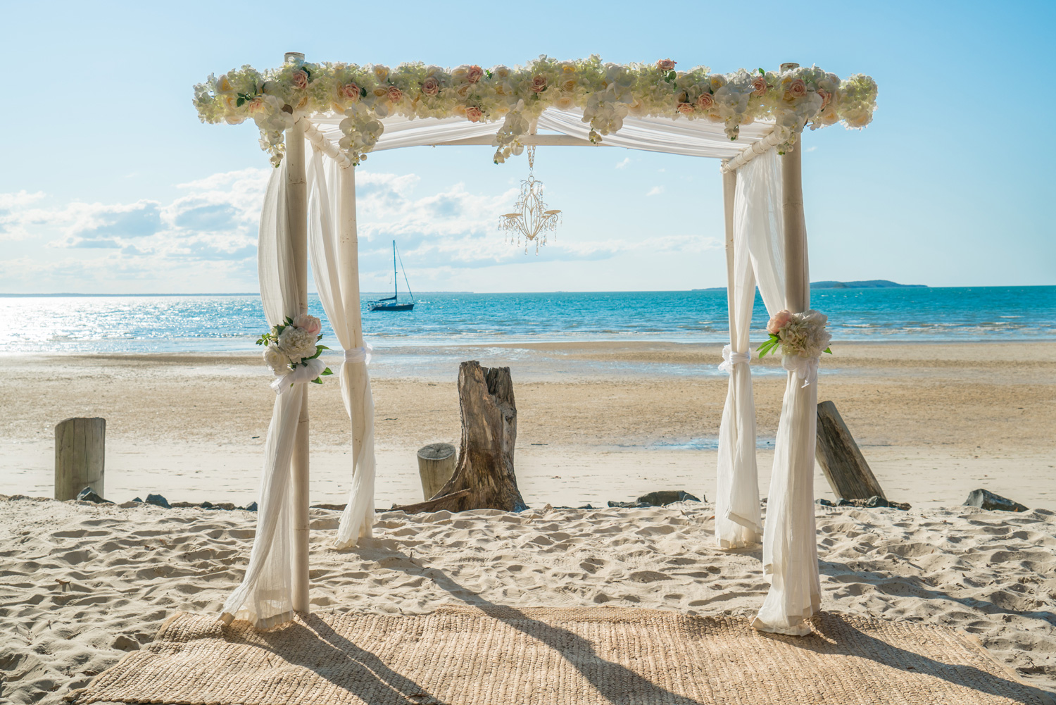 Fraser Island Beach Ceremony