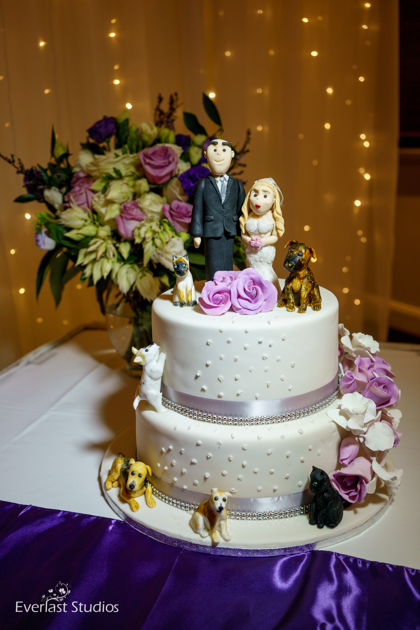 Cake and Cake Toppers