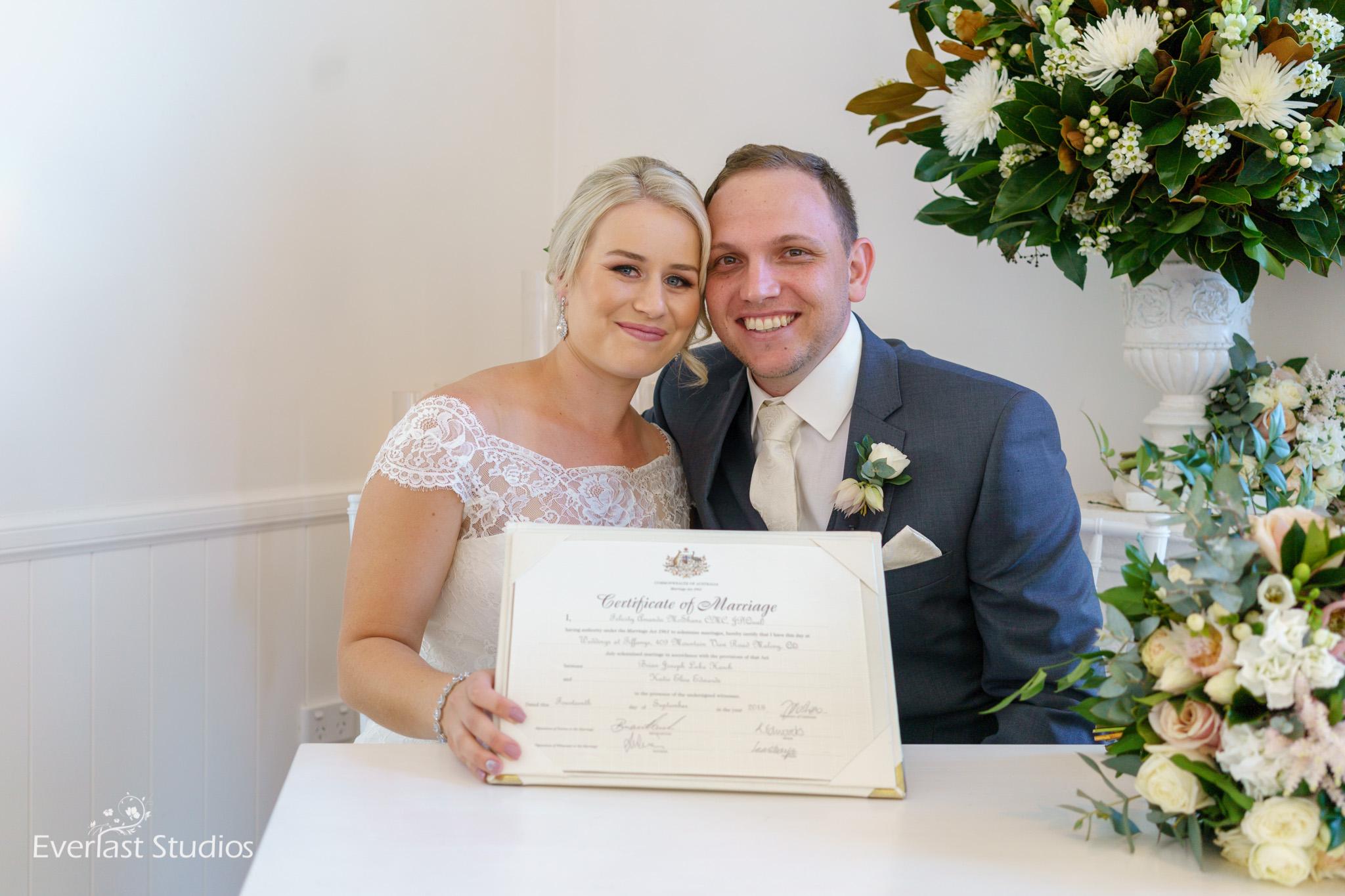 Wedding at Tiffany's Photography, Maleny Sunshine Coast