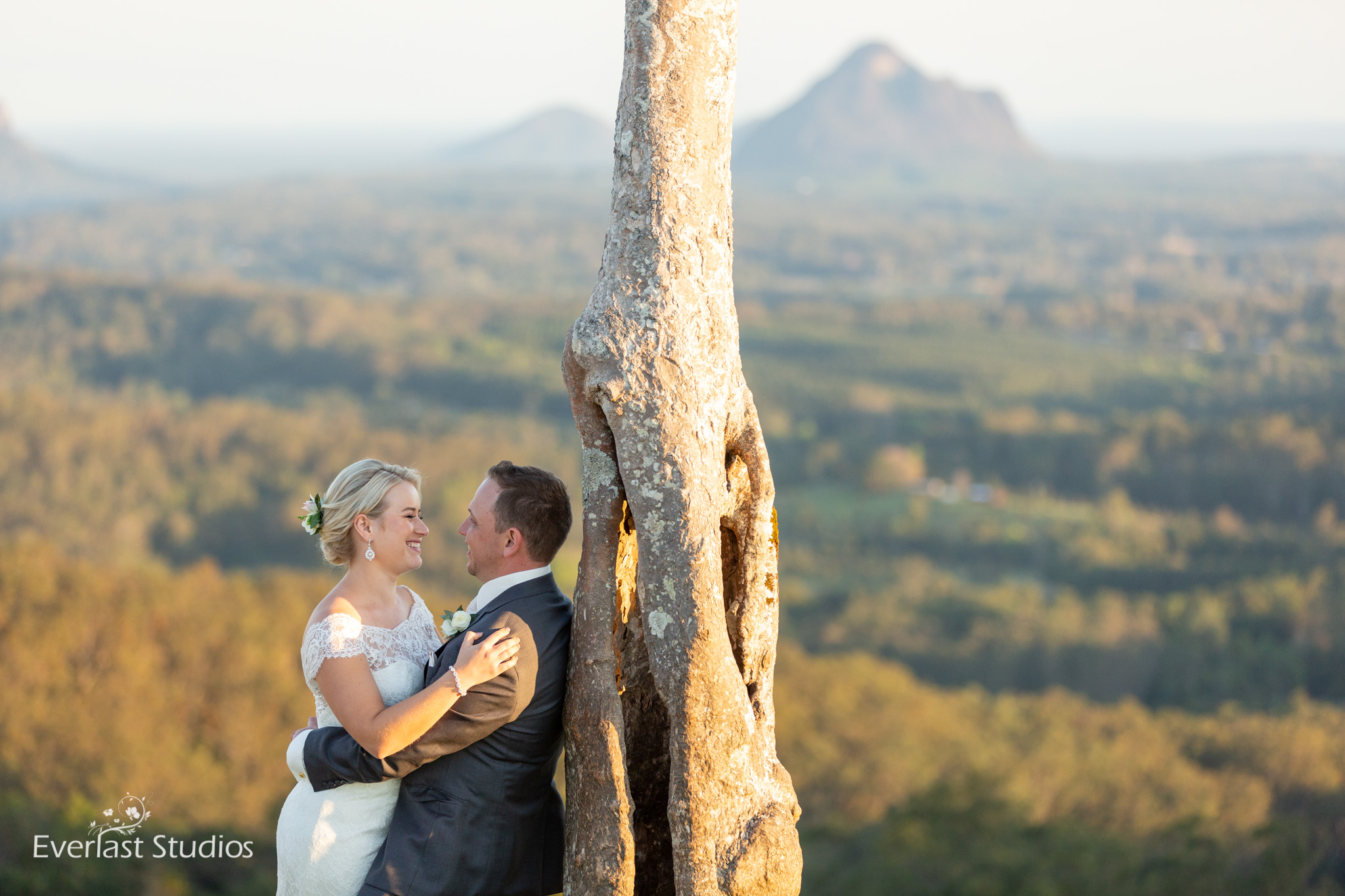 One Tree Hill Wedding Photography Maleny