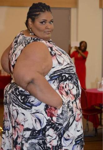 Katia at her annual The Lipedema Queen's Curves Meet Courage Conference and Fashion Show