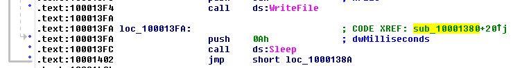 Write File / Sleep