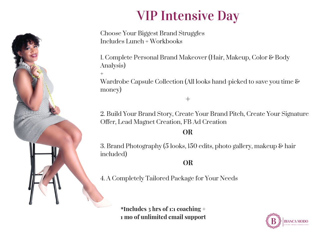 Bianca Modo | VIP Intensive