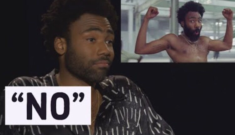 "Donald Glover Doesn't Want To Explain ""This is America"" Music Video.   Another  MASTER OF SILENCE . SOMETIMES Fools and wise folks LOOK THE SAME B/C THEY remain silent. Trying to appear wise, a fool knows to keep his mouth shut b/c if he talks his mind state will be revealed."
