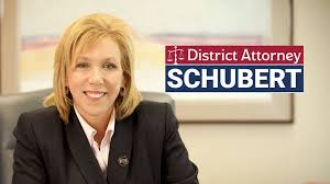 Racist suspect Sacramento County District Attorney Anne Marie Schubert. On JUne 15th she announced that she is no longer a Republican or no longer serving republican masters on their plantation. SHE is the highest-ranking elected official in the county who is openly gay. [ MORE ]
