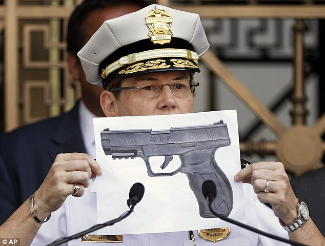 FOR SHOCK VALUE RACIST SUSPECT FOCUSES THE PUBLIC'S ATTENTION TO THE BB GUN ALLEGEDLY FOUND NEAR KING. AS OPPOSED TO FOCUSING ON WHETHER IT WAS EVER POINTED AT THE RACE SOLDIER. WILL THE CASE TURN ON DETAILS & FACTS OR WHETHER RACIST SUSPECT JURORS BELIEVE A RACIST SUSPECT COP?