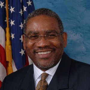 """In photo Congressman Greg Meeks (D-N.Y.). Among other things this puppetician supported THE """"   Protecting Consumers' Access to Credit Act    of 2017."""" The legislation allows payday lenders to ignore state interest rate caps on consumer loans TO RIP OFF BLACK PEOPLE as long as they partnered with a national bank. [   MORE   ] he also voted to Make Assault on a Police Officer a Federal Hate Crime. [   MORE   ]"""