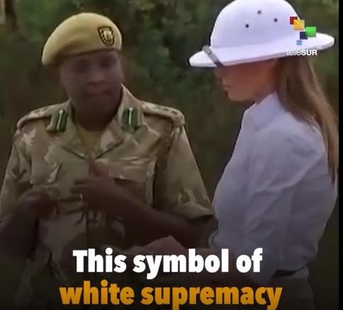 melania trump racist suspect.jpg