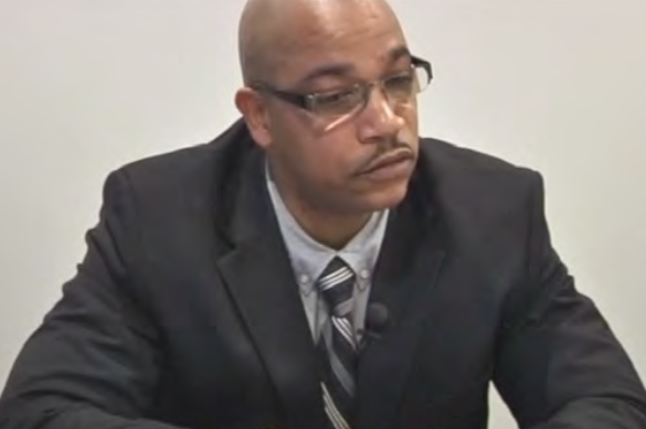 BLACK ON BLACK CRIME IN SERVICE OF RSW.  Officer Damon Lockett, acknowledged that he punched Alonzo Grant in the head 10 times during a bloody arrest, but he testified that his actions were justified. [ MORE ]