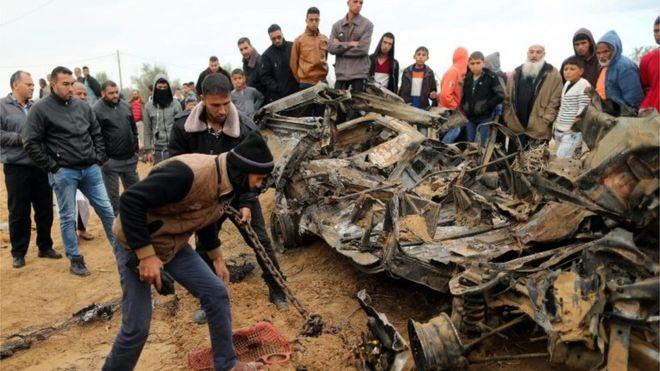 Eight killed in covert Israeli action in Gaza