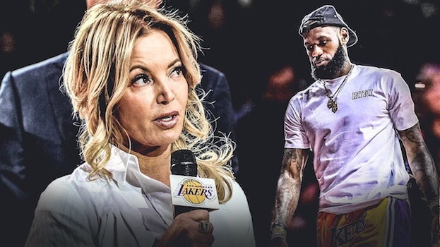 OWNER OF THE LA LAKERS JEANNIE BUSS.