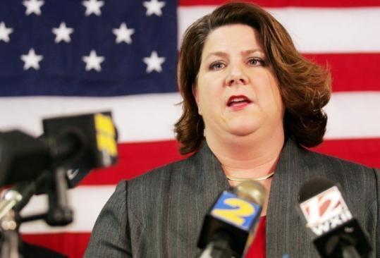 RACIST SUSPECT Moore County District Attorney Maureen Krueger