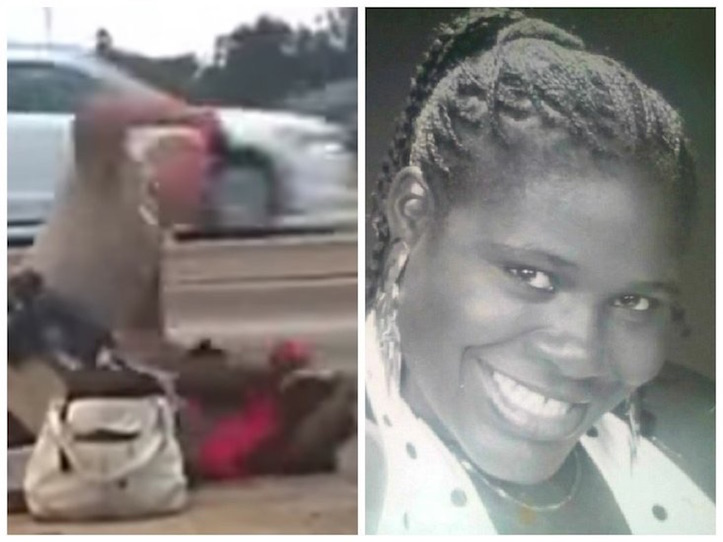 If a Black Cop Pinned a White Woman Down on the side of the highway & Punched her in the Face Over & Over Again [DEADLY FORCE], would Criminal Charges be filed?