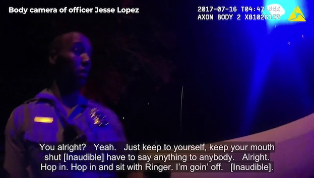 """""""Wrong Complexion for Blue Protection:""""    NEWLY RELEASED BODY CAM    Videos Show Min Cops Trying to Cover-Up the Killing of Justine Damond. But it's Historically Rare for a Black Cop to Shoot or Get Away w/Shooting an Unarmed White Person in White Supremacy System   ."""