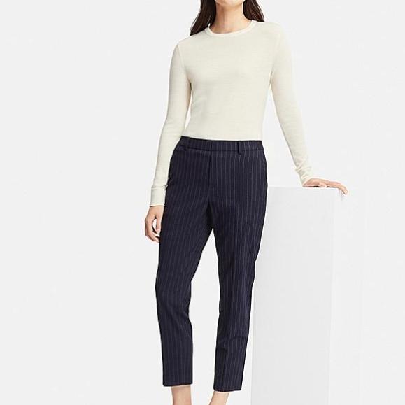 uniqlo ezy ankle-length pants