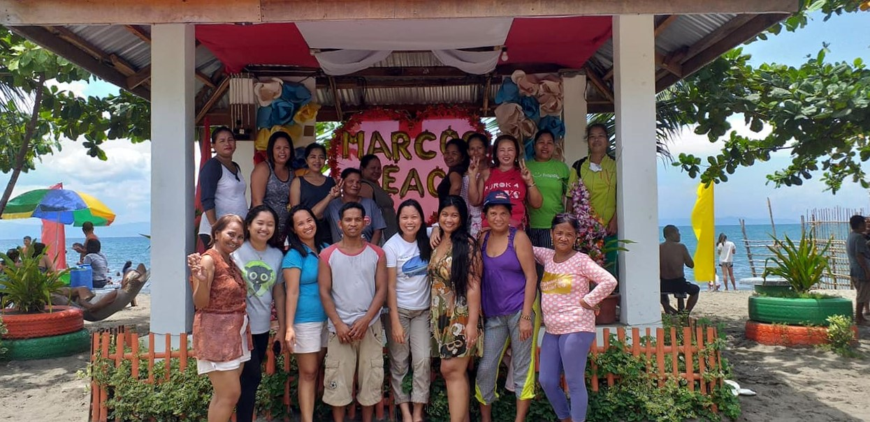 After months of workshop, sari-sari store owners found new friends with other microentrepreneurs in other areas in Leyte.  Photo by Ruthy Prudenciado