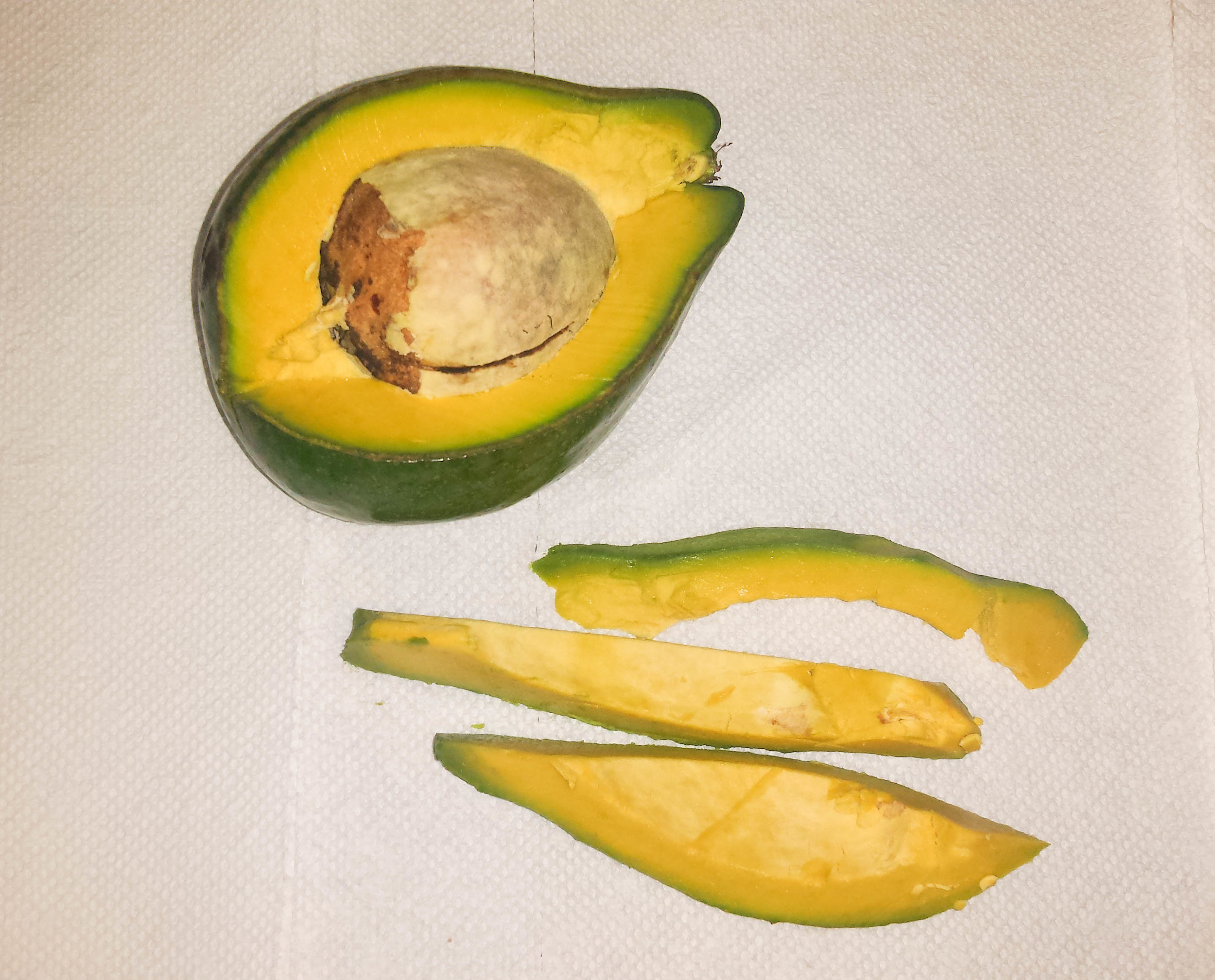 Step 1: Cut Avocado
