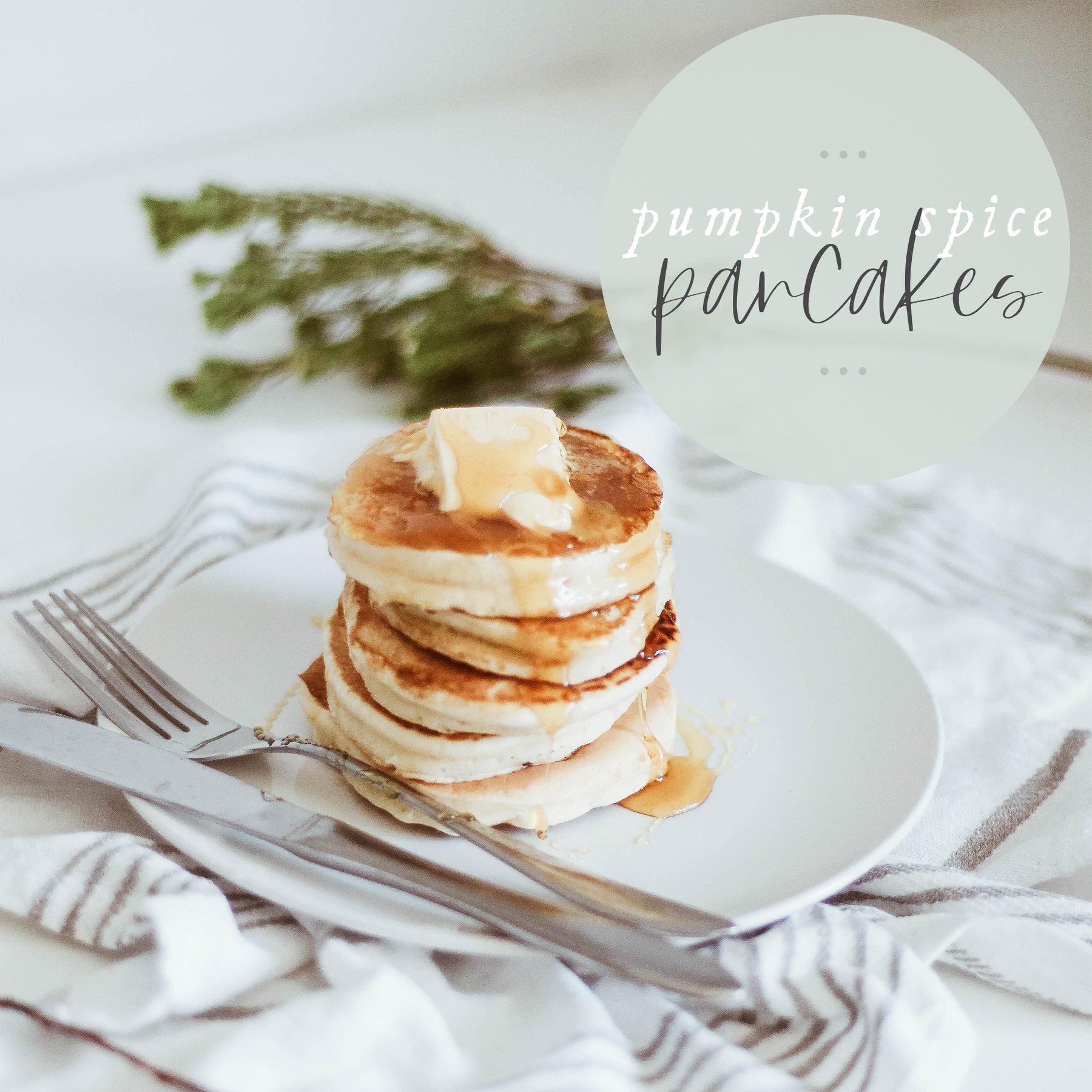 pumpkin spice pancakes