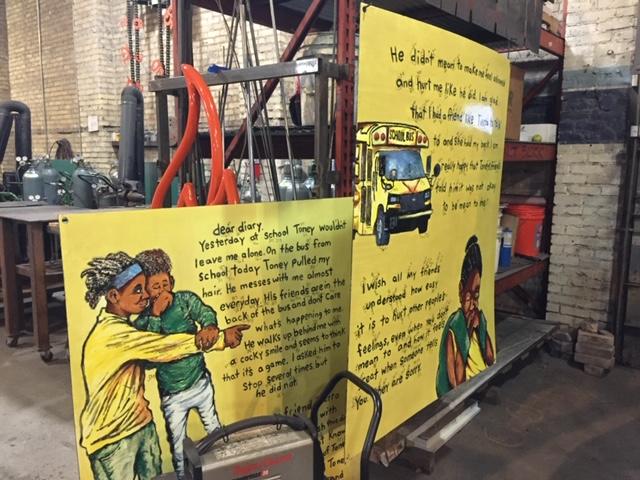 enamel panels for CAFAC John Biggers SEED mural.jpg