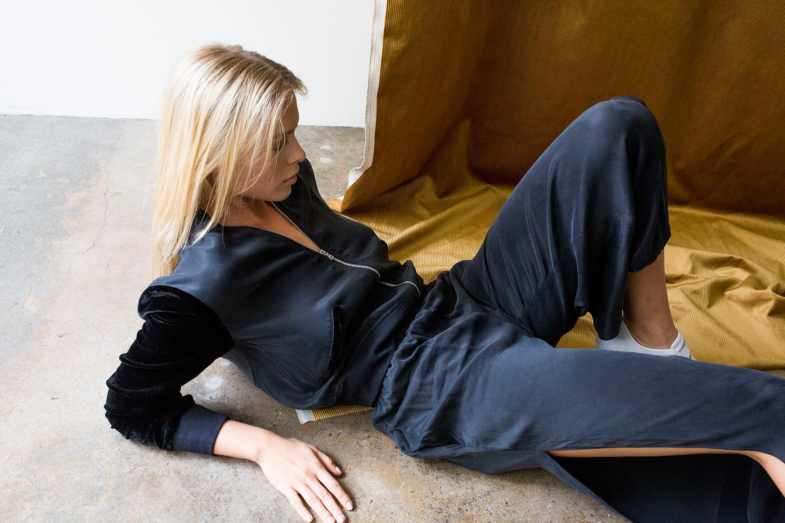 Photographer:  Gareth Davies    Model:  Aria    Hair & Make Up:  Sasha Araujo    Stylist:  Stacey Marie    Brand:  art dept.