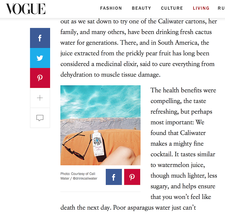 Vogue Feature