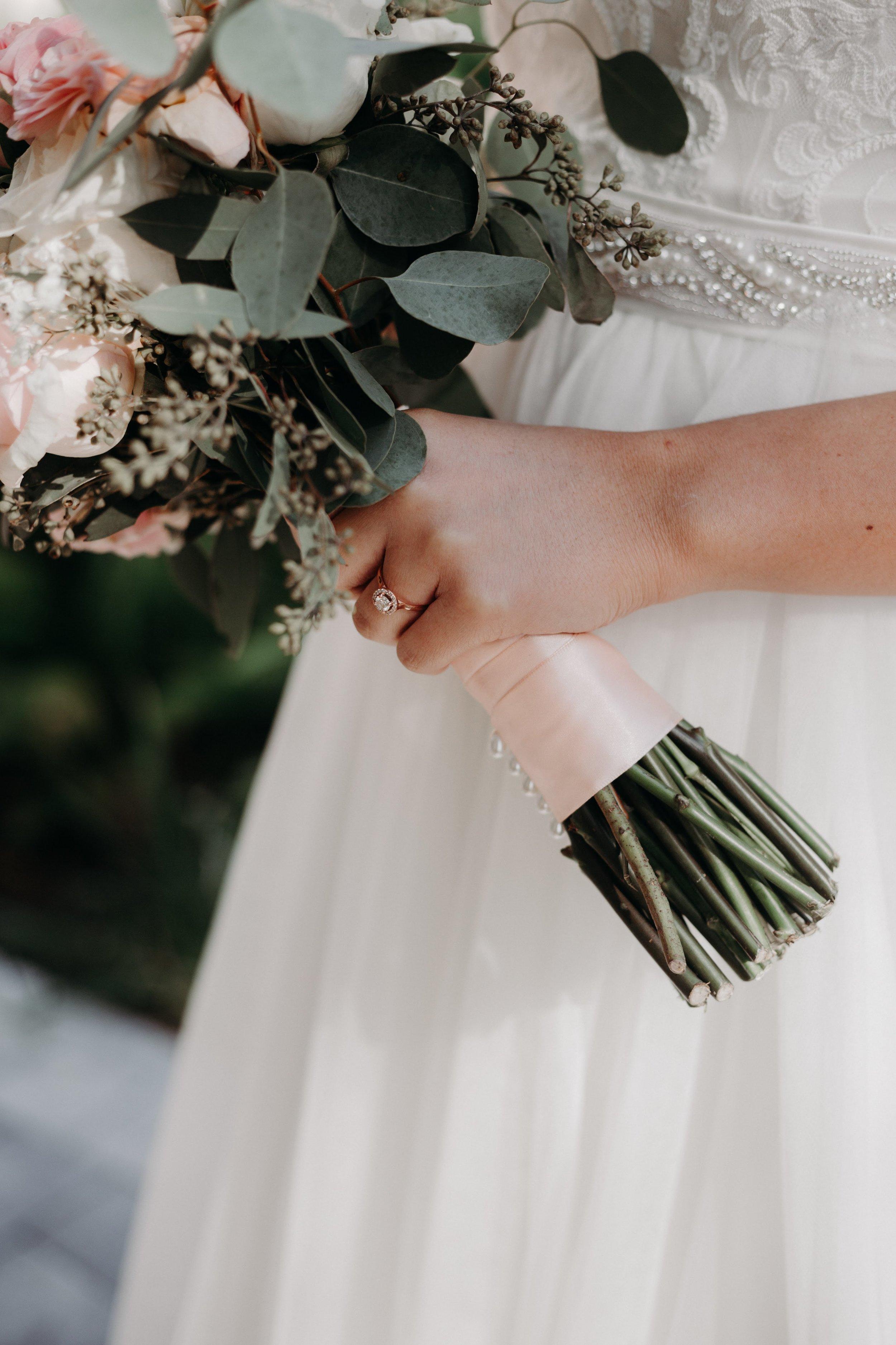 Israel + Celeste - Wedding Florals - Floral Design - Ashley Hur - Hip Hip Hooray Dot Love