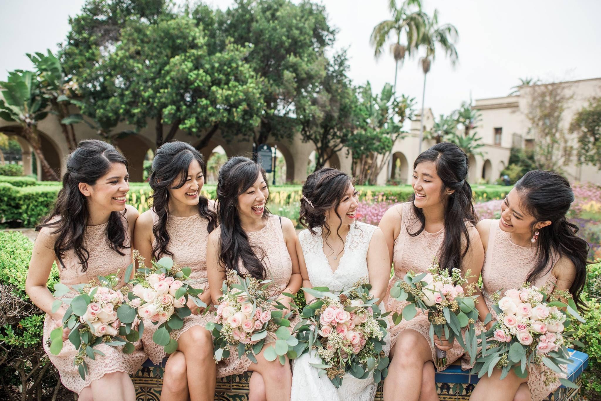 Andy & Esther - Wedding Florals - Floral Design - Ashley Hur - Hip Hip Hooray Dot Love
