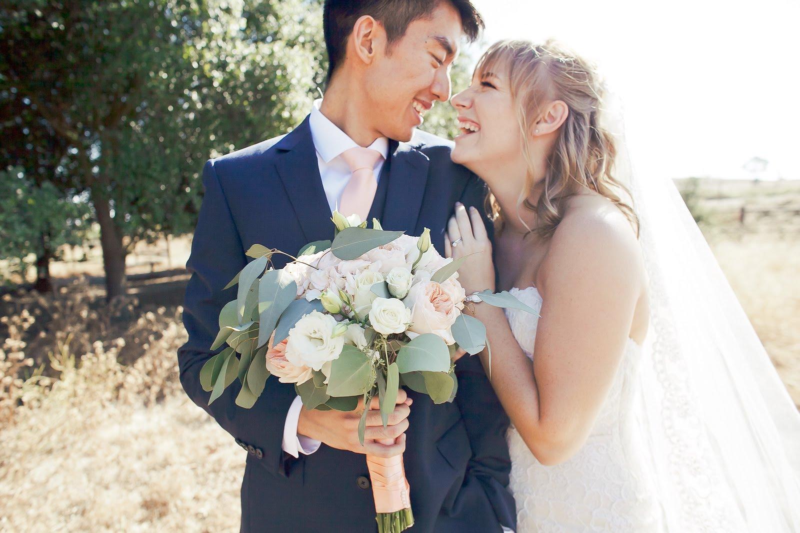Simon & Myra - Wedding Florals - Floral Design - Ashley Hur - Hip Hip Hooray Dot Love