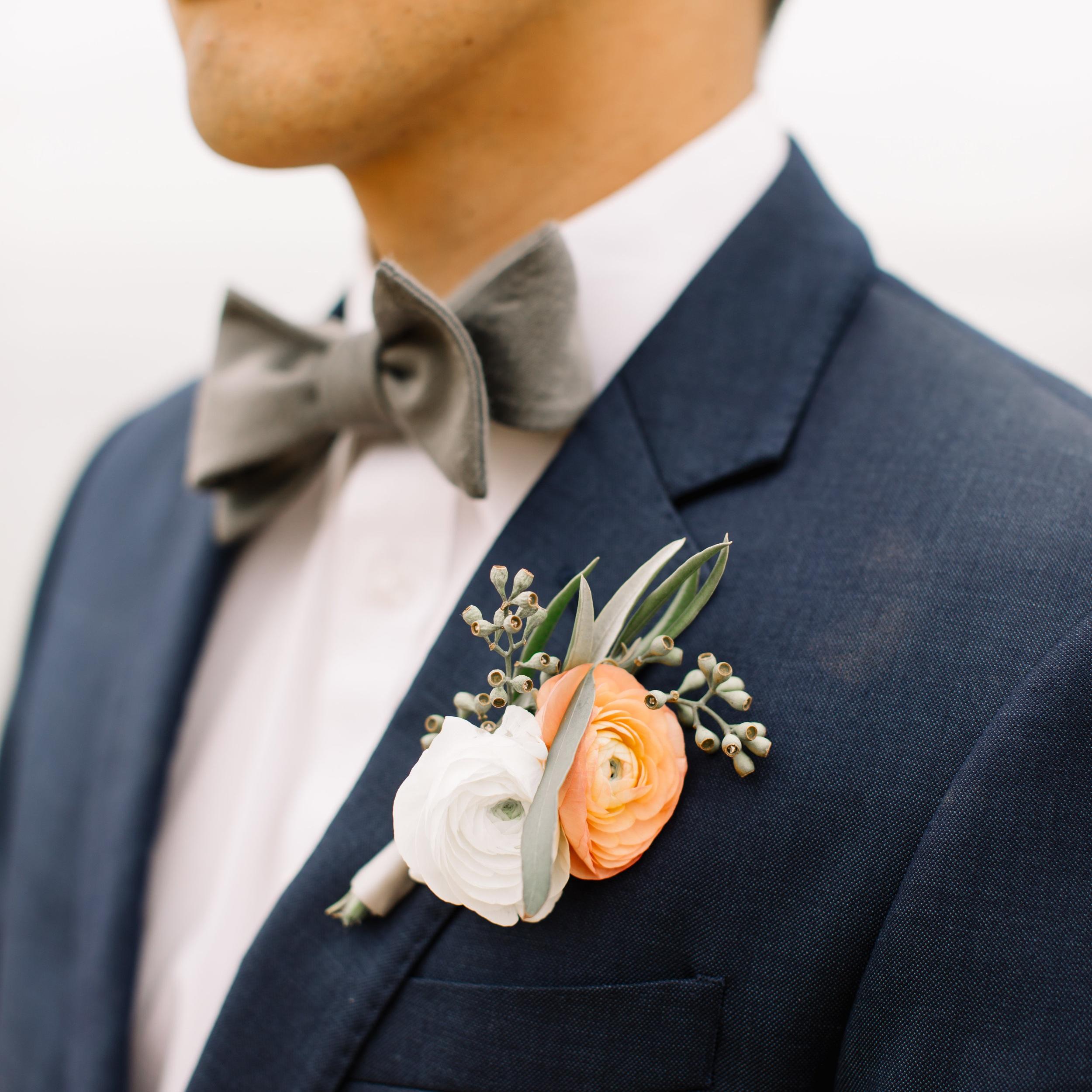 Derek & Vung - Wedding Florals - Floral Design - Ashley Hur - Hip Hip Hooray Dot Love