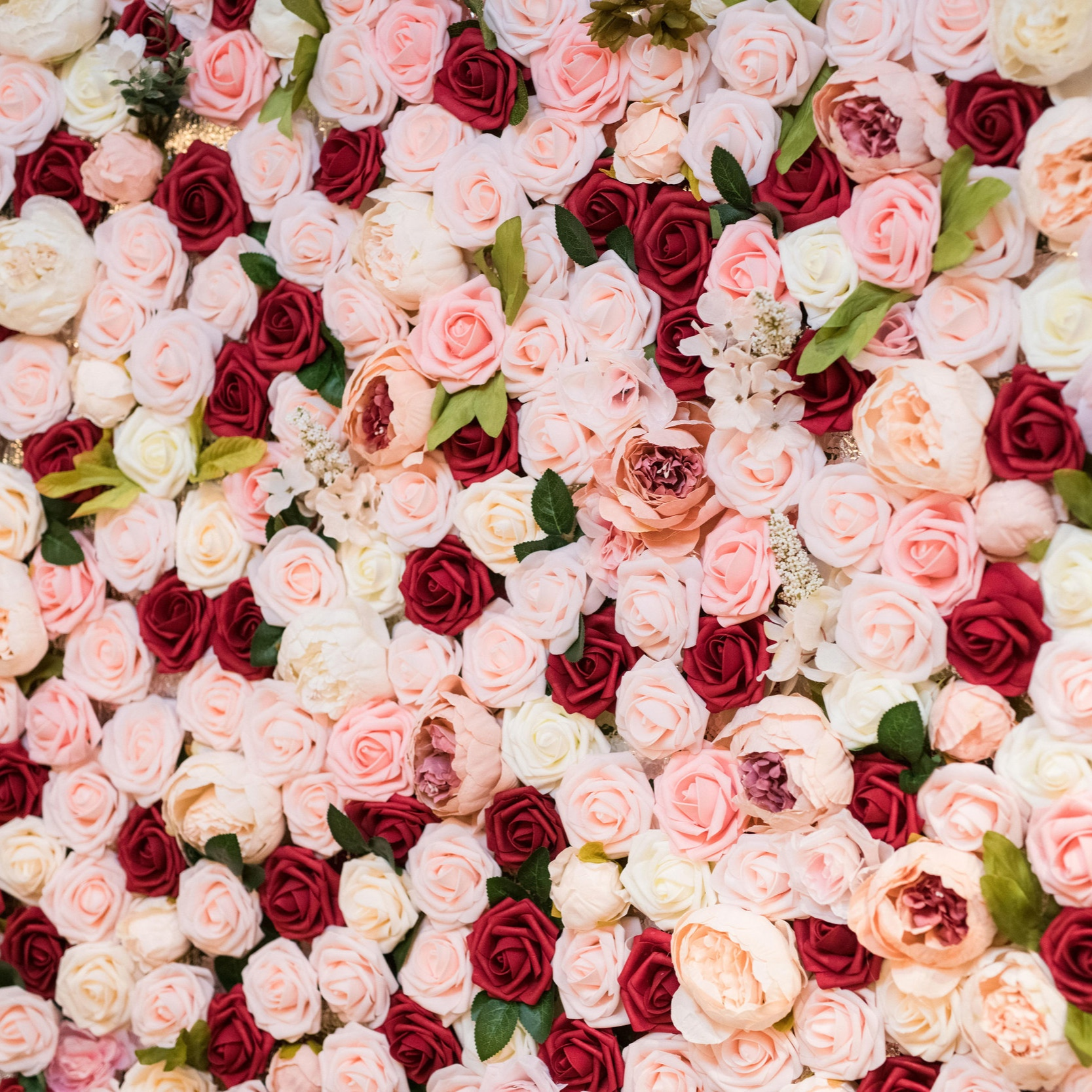 Matt + Kristie - Wedding Florals - Floral Design - Ashley Hur - Hip Hip Hooray Dot Love