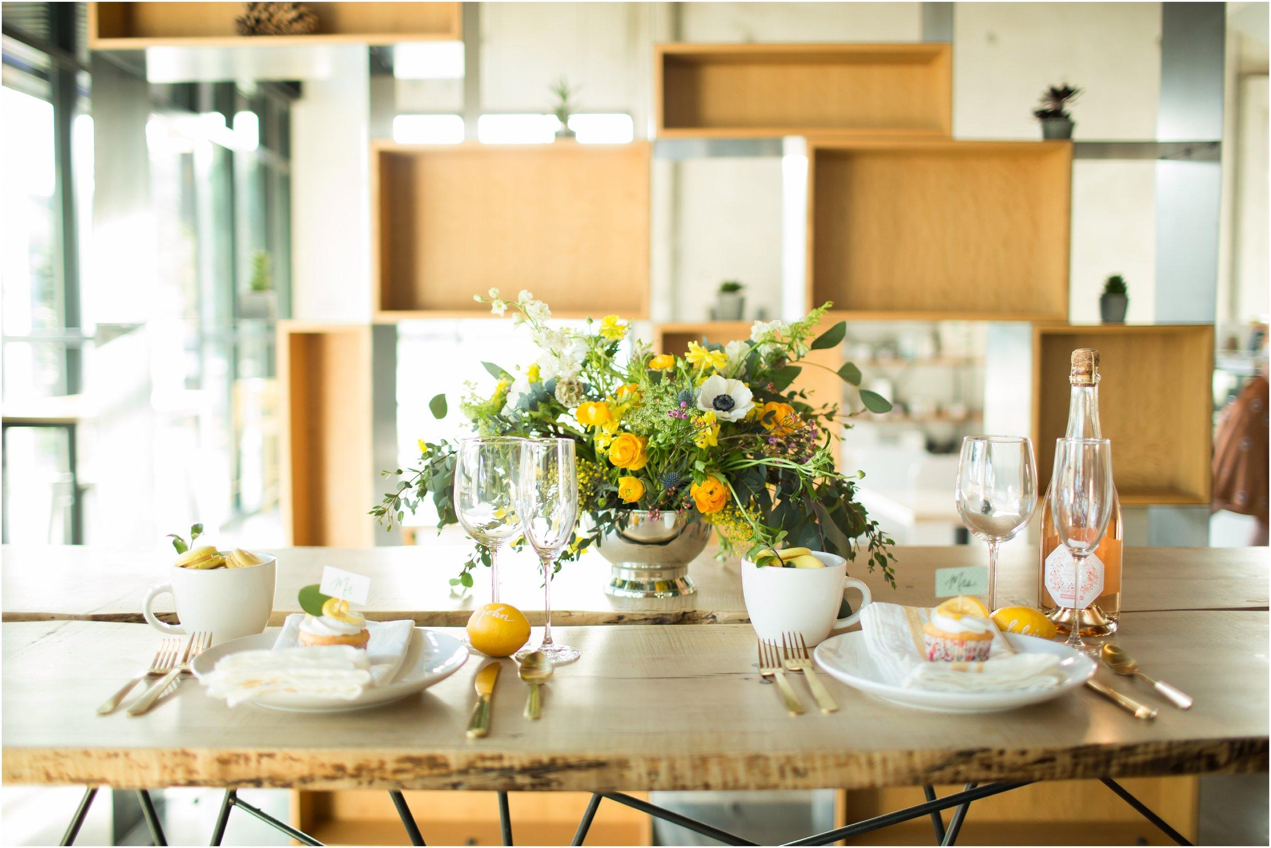 John + Kelcie - Wedding Florals - Floral Design - Ashley Hur - Hip Hip Hooray Dot Love