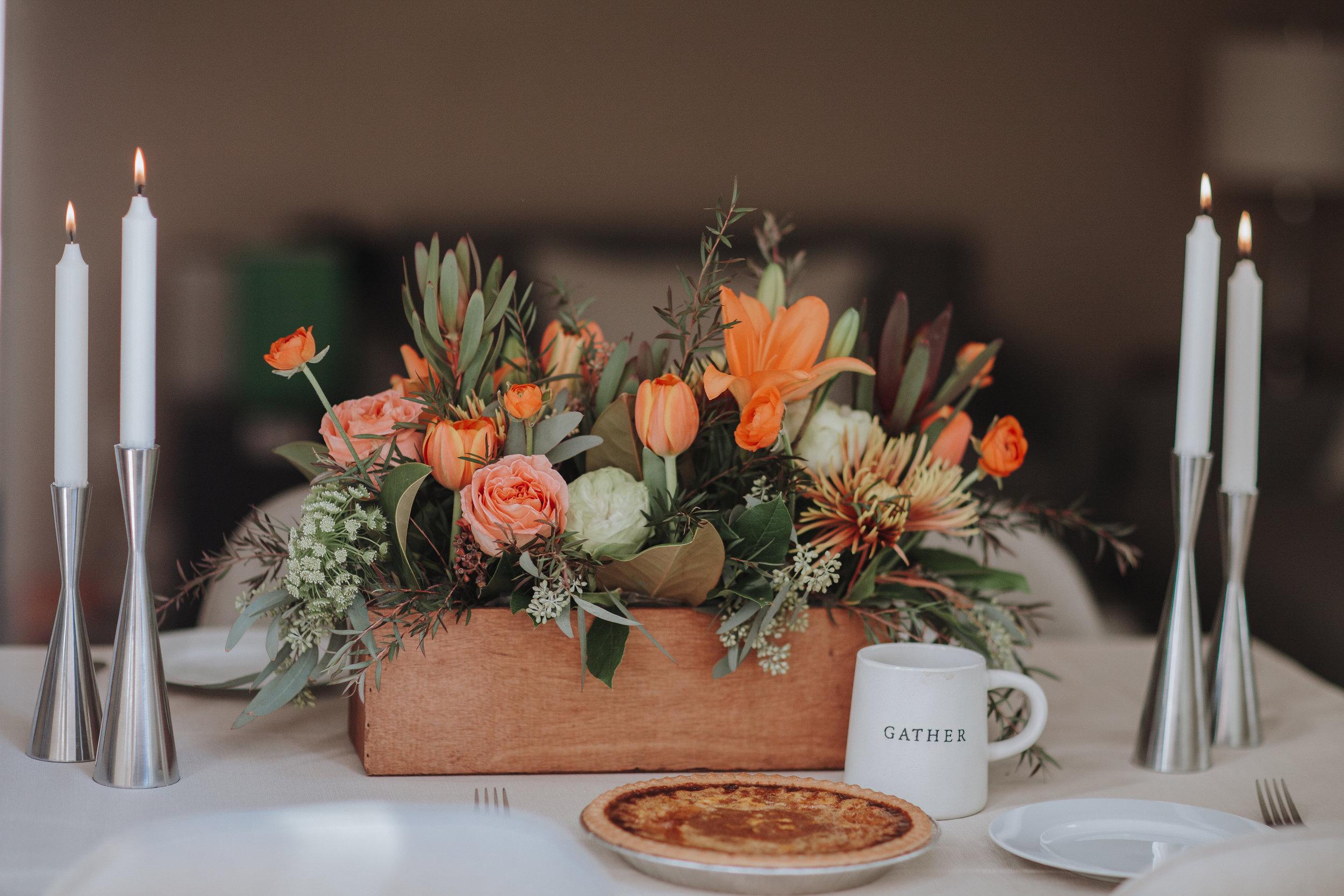 Deja Brew Lounge | Wedding Florals | Floral Design | Hip Hip Hooray dot Love
